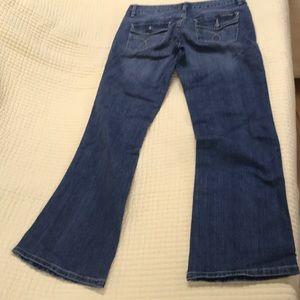 Calvin Klein Jeans size 8 lean boot cut